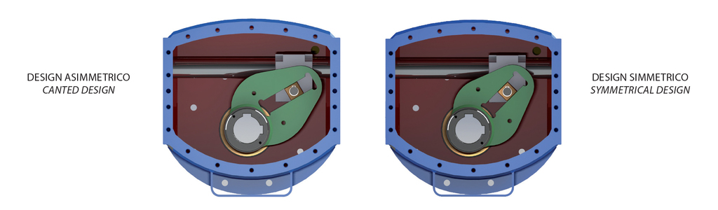 Double acting DA type Heavy Duty carbon steel actuator - specifications -