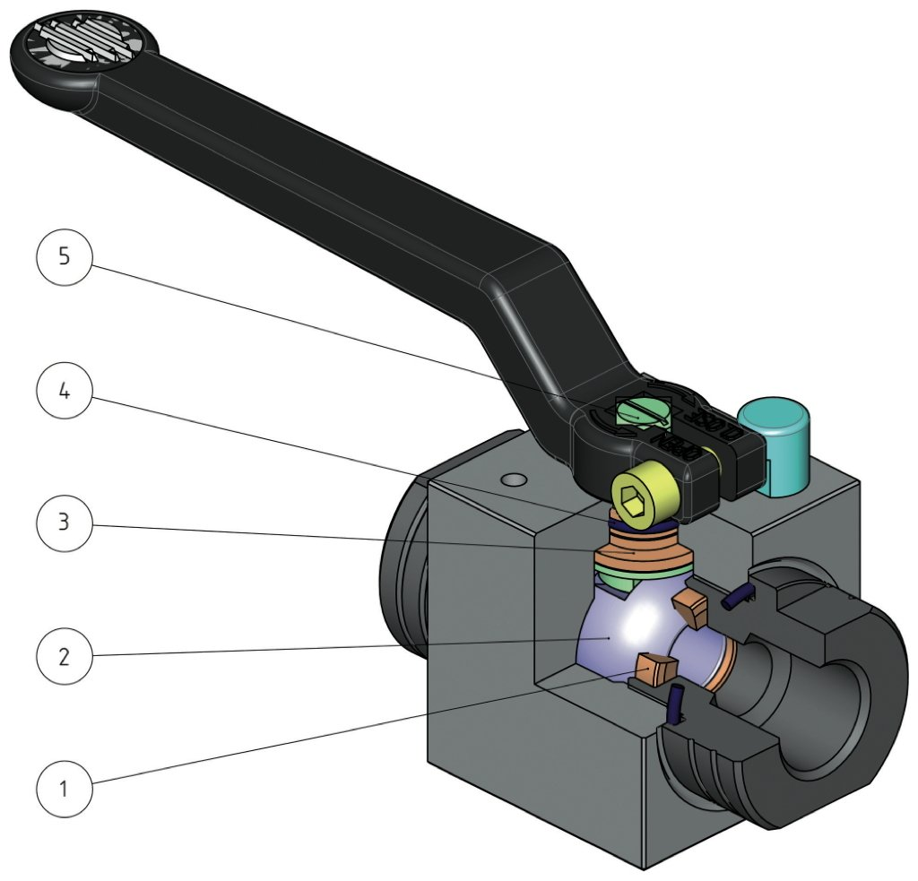 Hercules manual carbon steel ball valve - benefits -