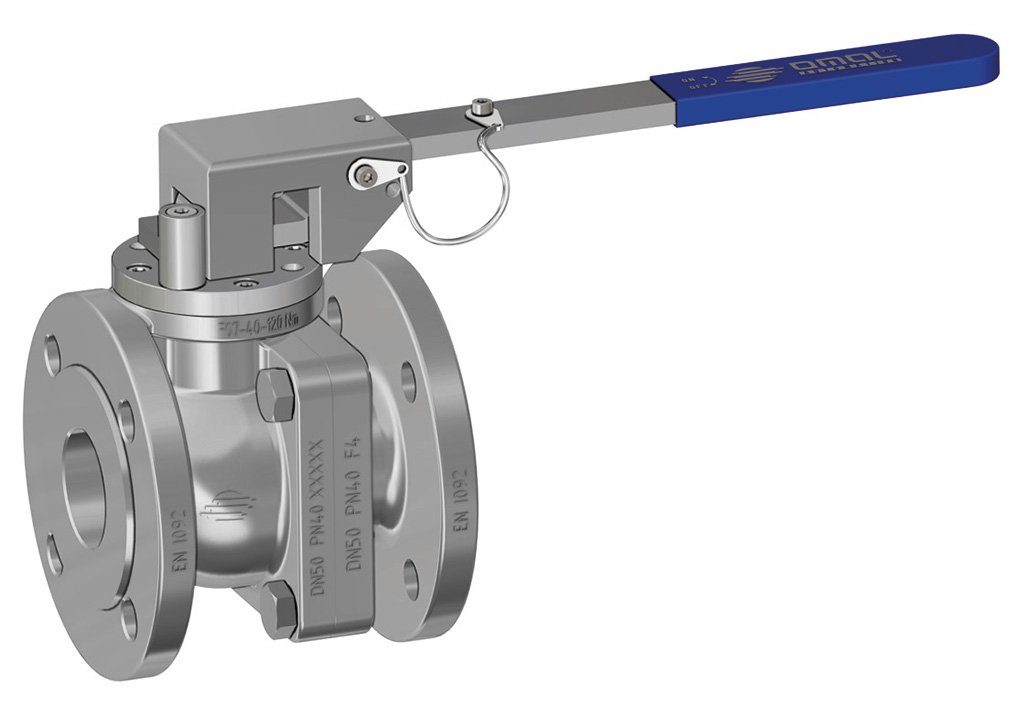 Prochemie 60 Split Body PN 16-40 stainless steel ball valve - special executions - Locking device